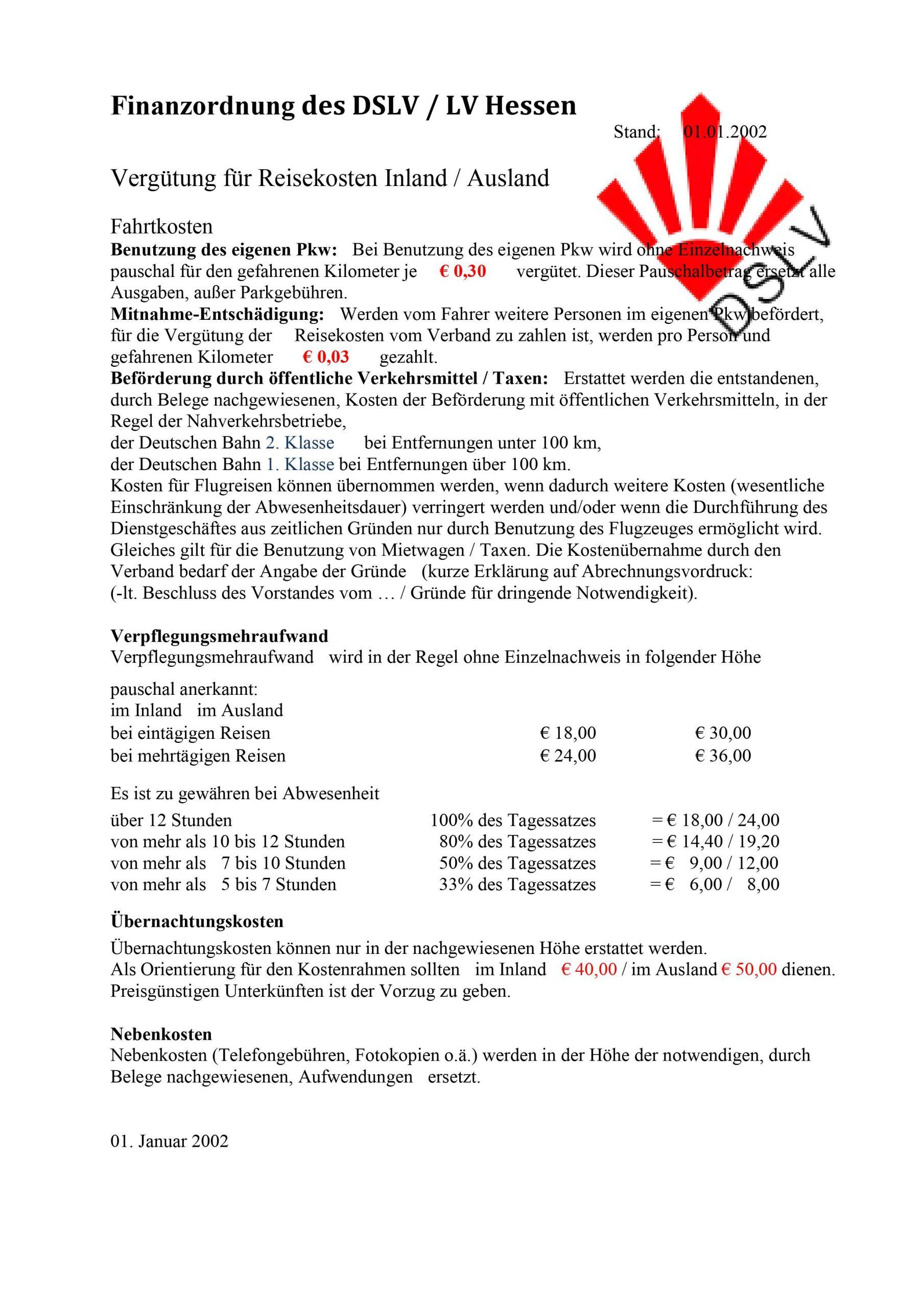 Satzung des DSLV Hessen 3